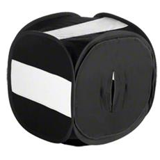 Pop-Up Light Cube 80x80x80cm Nero
