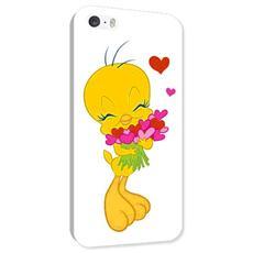 Cover Tweety Cuori iPhone 5/5S