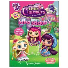 Albo stickers. Little Charmers. Con adesivi