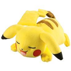 Pupazzo Peluche Pokemon Sleeping Pikachu 20 cm