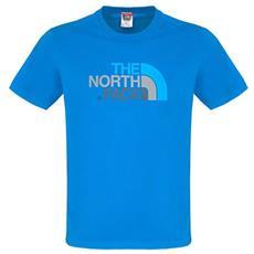T-shirt Uomo Easy Tee Blu L
