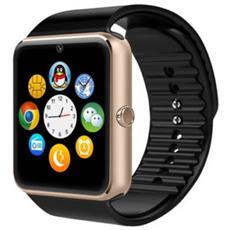 Smartwatch Gt08 Display 1.54'' 64 MB con Bluetooth Micro SIM Nero / Marone - Europa