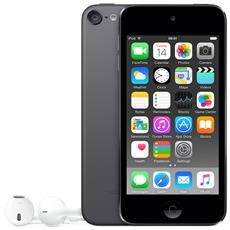 "iPod Touch 128GB Display Retina 4"" IPS Multi-Touch Fotocamera 8Mpx con AirPlay iCloud Bluetooth / Wi-Fi Colore Grigio Siderale"