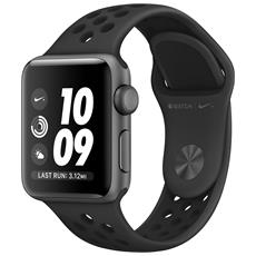 Watch Nike+ Impermeabile 5 ATM Dispaly OLED 8GB con Bluetooth e GPS per Fitness Colore Antracite Nero
