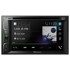 "Lettore Multimediale Radio FM / DAB+ Touchscreen 6,2"" Bluetooth USB / CD / DVD"