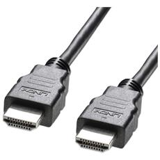 Cavo HDMI High Speed con Ethernet Basic Lunghezza 3m