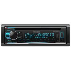 Sintolettore CD KDC-210UI Potenza 4x50W Supporto MP3 / WMA / WAV / FLAC / USB / AUX Nero