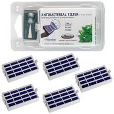 5 Filtri Antibatterico Microban Filtro Aria Per Frigorigero + Timestrip - 481248048172