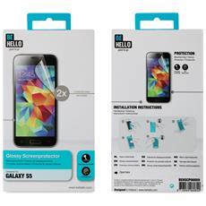 BEHSCP00059 Clear screen protector Galaxy S5 / S5 Neo 2pezzo (i) protezione per schermo