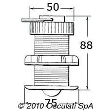 Trasduttore e Sensore per Strumenti con Cavo E26031 Nera 13.8 80 x 50 x 75 mm 29.600.12