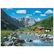 Puzzle Paesaggi Monti Karwendel Austria 1000 pz 37 x 27 x 5.5 cm 19216