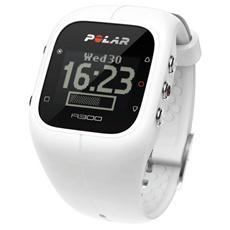 A300 Orologio Fitness e Activity Monitor Bluetooth con Cardiofrequenzimetro Calorie e Sonno - Bianco