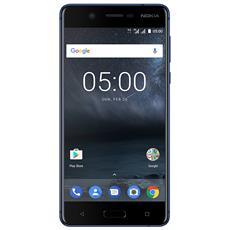 "5 Blu 16 GB 4G / LTE Dual Sim Display 5.2"" HD Slot Micro SD Fotocamera 13 Mpx Android Europa"