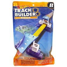 Set Accessori MOD0454 Hot Wheels Stunt Track Builder con Pista e Veicolo Assortiti