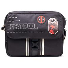 Marvel: Deadpool - Icon Placement Printed Solid Black (borsa)