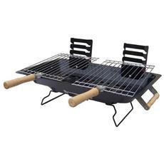 DOBENO 8711252213576 Barbecue Da tavolo Carbonella Nero barbecue e bistecchiera