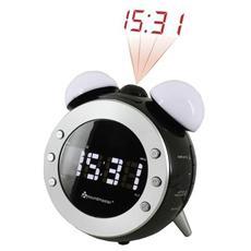 Orologio RadioSveglia Colore Bianco Nero - Modello UR140SW
