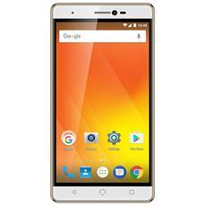 "M3 Oro 16 GB 4G / LTE Dual Sim Display 5.5"" HD Slot Micro SD Fotocamera 8 Mpx Android Italia"