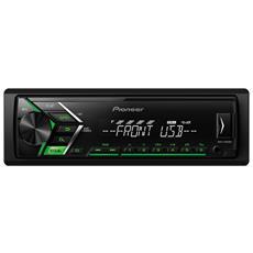 Autoradio con Ingresso AUX e USB Potenza 200 Watt Colore Nero