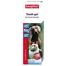 Tooth Gel Per Tutte Le Misure Di Cani E Gatti Fegato Sapore Antiplaque