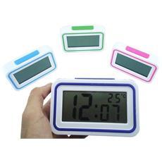 Orologio Sveglia Digitale Kk9905ti Con Indicazioni Data Temperatura Con Audio Parlante Italiano Per Ipovedenti Colore Casuale