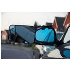 Estensione Per Specchietto Retrovisore (taglia Unica) (argento)