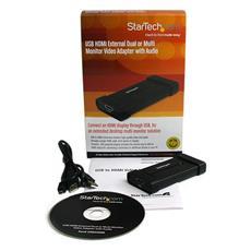 Adattatore video doppio esterno USB a HDMI® o per soluzioni a più monitor con audio