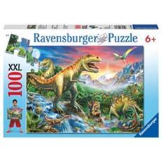 Puzzle L'Era dei Dinosauri 100 pz 34 x 23 x 4 cm 10665