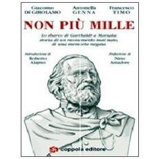 Non più Mille. Lo sbarco di Garibaldi a Marsala: storia di un monumento mai nato, di una memoria negata