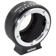 adattatore Nikon G a Fuji X