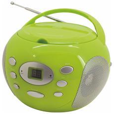SCD2000, Digitale, AM, FM, Lettore, CD, CD-R, CD-RW, CA / Batteria, 230V