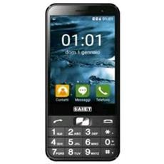 "Facile Smart Senior Phone Dual Sim Display 3.5"" Slot MicroSD 3G Fotocamera 5Mpx SOS Colore Grafite - Italia"