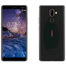 "7 Plus Nero 64 GB 4G / LTE Display 6"" Full HD Slot Micro SD Fotocamera 12 Mpx Android Tim Italia"