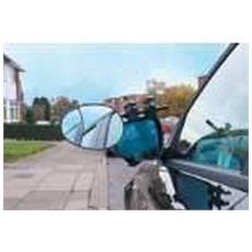 Estensione Aerodinamica Per Specchietto / rimorchio (taglia Unica) (argento)