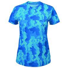 Hexoflage Maglietta A Maniche Corte Donna (xl) (zaffiro)