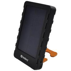 PowerPal 5000 is a portable battery which is charged via a USB port or the built-in solar cells. It can then transfer the power to a mobile phone or other mobile device. With a fully charged PowerPal in your bag, you can ensure that you will always be able to charge your devices anywhere an