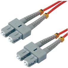 2m SC / SC OM2 Cable, SC, SC, Maschio / maschio, OM2, Multi, Low smoke zero halogen (LSZH)