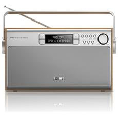 AE5220, Portatile, Digitale, DAB+, FM, 6W, LCD