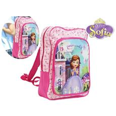 4032351 Zaino A Spalla Scuola E Tempo Libero Principessa Sofia Disney Junior 27 X 38 X 14 Cm