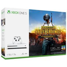 MICROSOFT - Console Xbox One S 1 Tb + PlayerUnknown's Battlegrounds