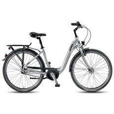 City Bike Ktm City Fun 26.3 3v Nexus 3 Coasterbrake Argento Opaco