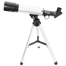 F36050 Telescopio Rifrattore Astronomico Paesaggio Lente Con Treppiede