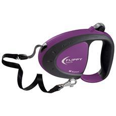 Flippy Tech Cord Guinzaglio Avvolgibile (5m) (l) (viola)