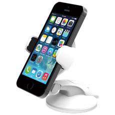 Easy Flex 3 Supporto da auto e da tavolo per iPhone e smartphone - Bianco
