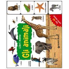 Gli animali. Con 40 carte memo
