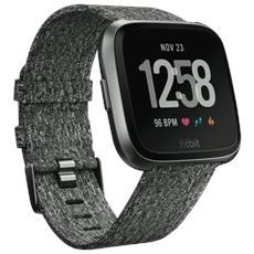 Smartwatch Versa Fitness Tracker per Battito Cardiaco / Allenamento / Sonno e Funzione GPS Colore Grigio - Europa
