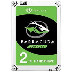 "Hard Disk Interno BarraCuda 2 TB 3.5"" Interfaccia Sata III 6 Gb / s 7200 rpm Buffer 64 MB"