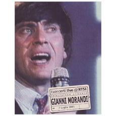 Dvd Morandi Gianni - Live@ Rtsi