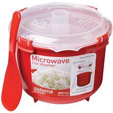 Sistema Cuociriso Per Cottura A Microonde 2,6 Litri
