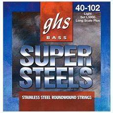 Muta L5000 - Super Steel - Long Scale Plus - Roundwound -light